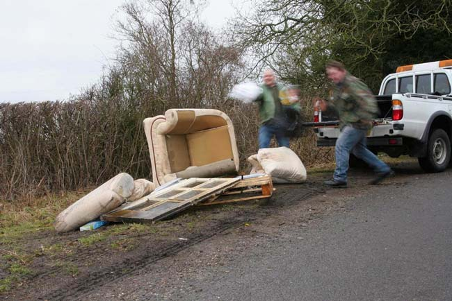 Don't risk having a fly-tipper clear your property!